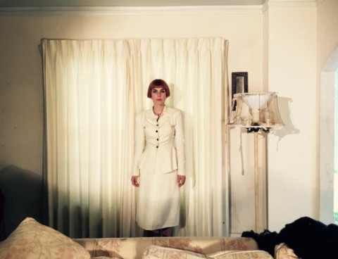 """Ziemba visits her decaying childhood home on new track """"With The Fire,"""" hear it now via FLOOD"""