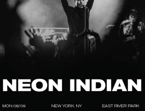 Neon Indian announces select East Coast dates w/ Classixx, playing Treasure Island