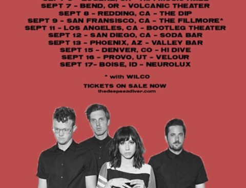 """Deep Sea Diver shares cover of Mariah Carey's """"Fantasy,"""" via KEXP, touring next month & opening for Wilco in SF"""