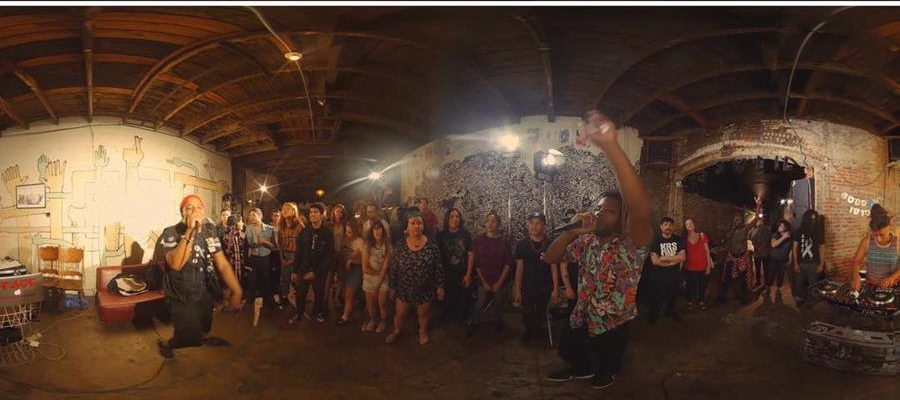 Take a virtual reality tour of The Smell with performances from No Age, Alpha MC + VerBS, David Scott Stone, Celebrity Crush and Clit Kat