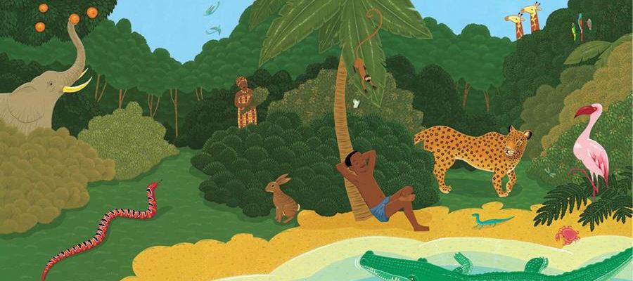 Nelson Mandela's Favorite African Folktales is coming to vinyl in Sept. via Wax Audio Group