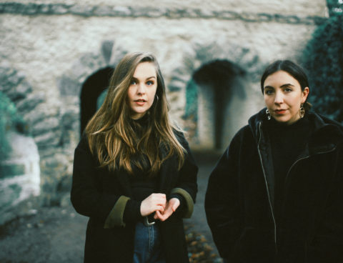 "Hear Saint Sister's ""You Never Call"" remixed by James Vincent McMorrow via KCRW"