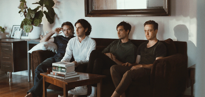 Line & Circle's new EP is out today, watch a new music video starring Socrates