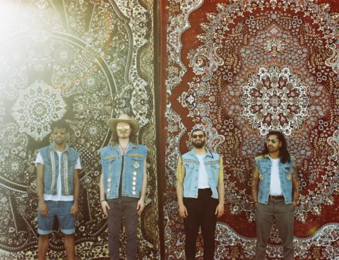 """Flamingods unveil new music video for """"Paradise Drive"""" and share new track """"Club Coco,"""" their albumLevitationis out this Friday via Moshi Moshi Records"""