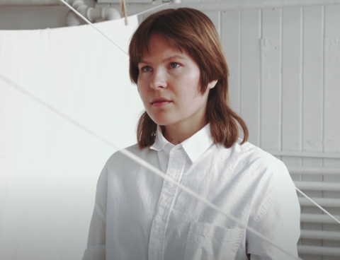 "Watch Camille Delean's new ""Go Easy"" video via Gold Flake Paint; Cold House Burning is due 6/5"