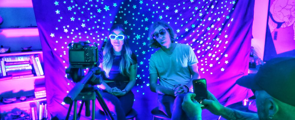 """Spacette shares the colorful video for """"Neptune"""" & announces new EP via MXDWN"""