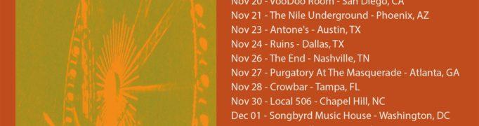 The Umbrellas announce Nov/Dec US tour